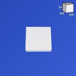 Kwadrat - bryła wystawowa z...
