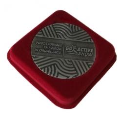 Kwadrat na medal 80mm  –...